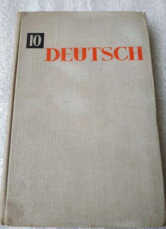 Книга Deutsch-самоучитель немецкого язика 1971г