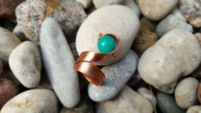 Turkusowy pierścionek