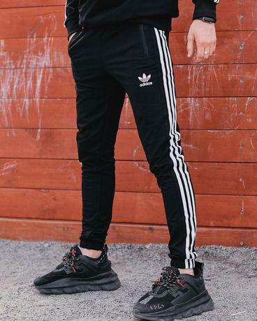 Зимние Спортивные Штаны Adidas Three Line ,  Штаны Адидас!