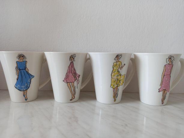 Kubki porcelanowe Paula Costelloe