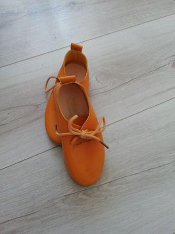 Żółte buty rozmiar 26