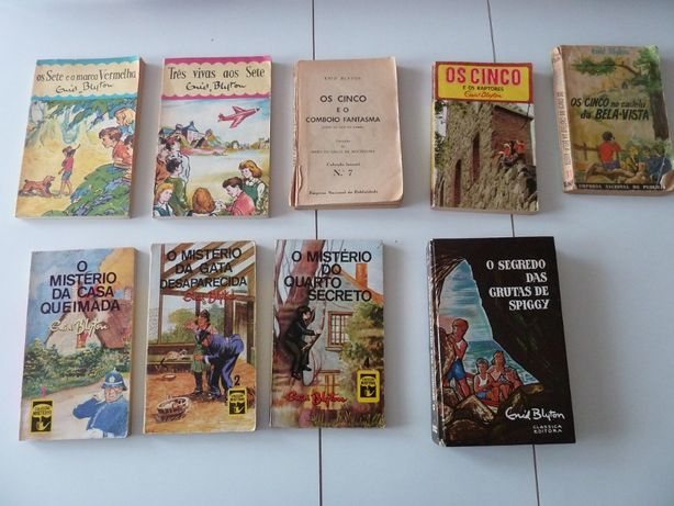 Livros vintage Enid Blyton (ctt grátis)