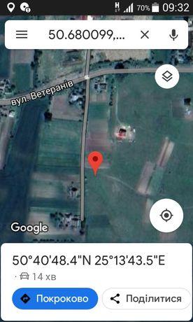 Продам земельну ділянку на масові г.полонка-оздів
