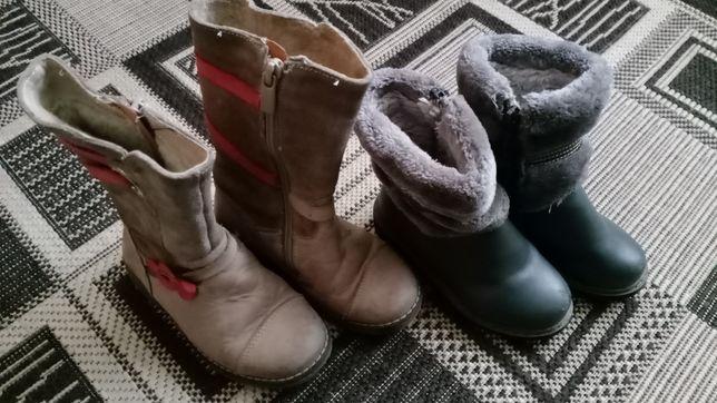 Зимові чоботи для дівчинки