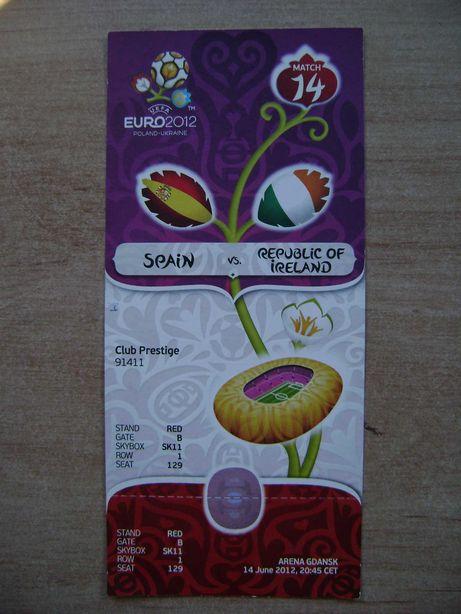 Starocie z PRL - Bilet na EURO2012 na mecz nr 14