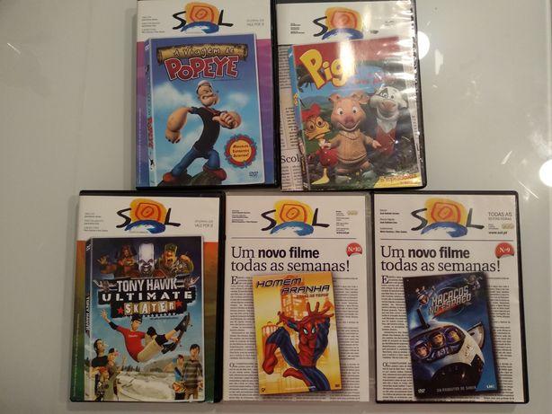 Filmes e séries infantis de animação