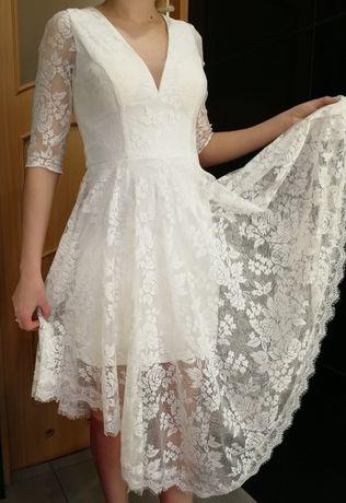 sukienka na poprawiny dla Panny Młodej FOREVER UNIQUE ślub wesele