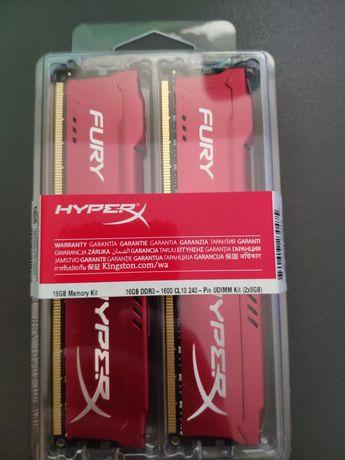 Nowe pamięci RAM Kingston HyperX DDR3 2x8 = 16GB 1600Mhz CL10