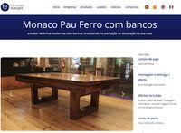 Bilhares europa fabricante mod Monaco oferta tampo jantar campanha