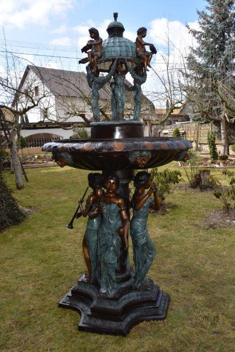 Linda fonte de bronze(ÚNICA) Costa Da Caparica - imagem 1