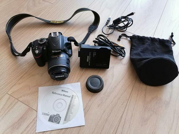 Aparat Nikon d3200 jak nowy!
