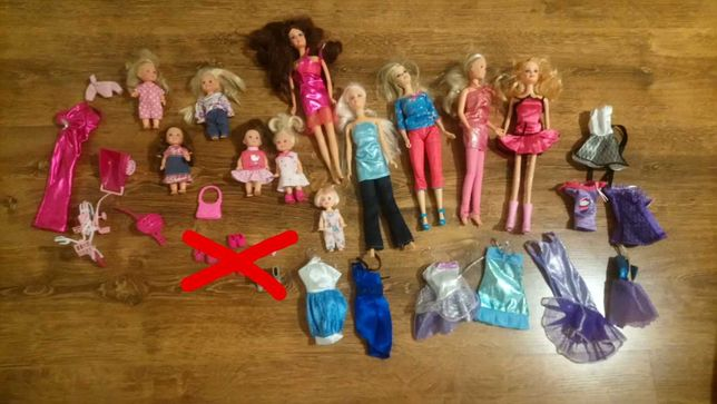 kolekcja -lalki barbie