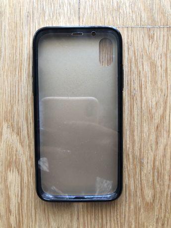 Capa iPhoneX frente e verso Dourada