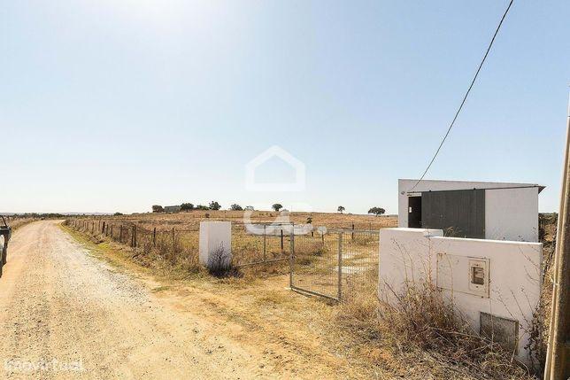 Terreno rústico de 3 hectares, com dependência agrícola, poço e tanque