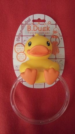 """Wieszak na ręcznik, ściereczkę B. Duck """"kaczka"""""""