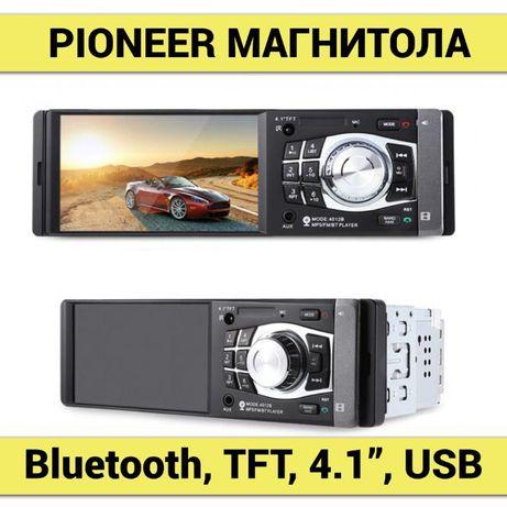 "PIONEER 4020 автомагнитола сенсорная 4"", LCD, SD, USB, Хит!"