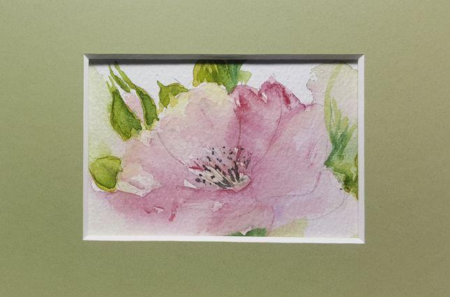 Obraz Ręcznie malowany Kwiaty Prezent