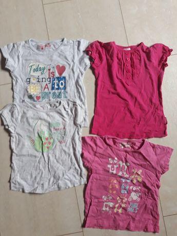 Bluzki dziewczynka 5-6l