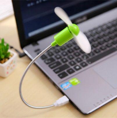 Ventoinha portátil   carregamento por USB