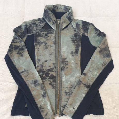 Bluza zapinana na zamek Marc Cain Vintage, rozmiar M