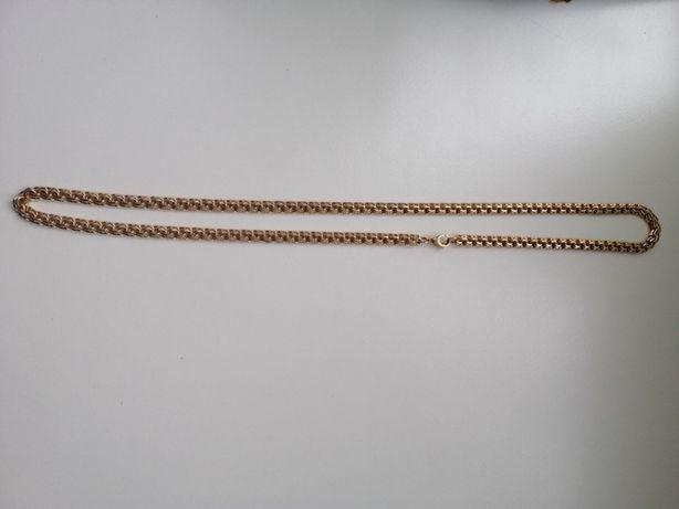Золотая цепь и браслет бисмарк , 60 и 22 см( !999 грн/ гр)