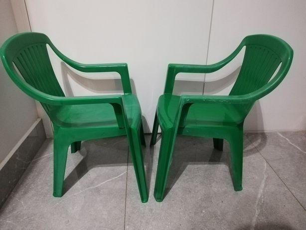 Klasyczne Retro Krzesełka Dziecięce
