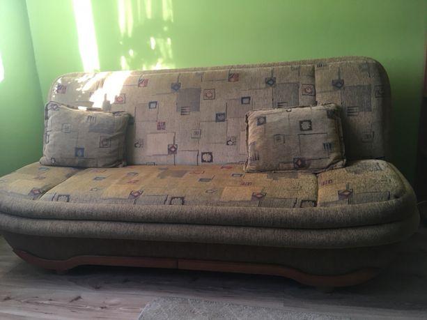 Rozkładana kanapa łóżko wersalka sofa na sprężynach