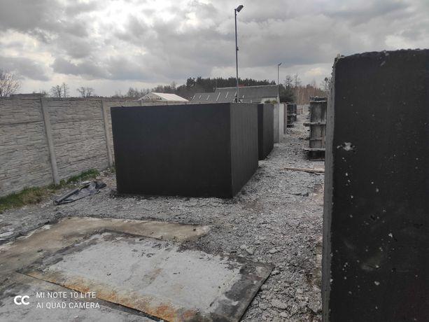 Zbiorniki betonowe na gnojowicę gnojówkę deszczówkę wodę 16m3