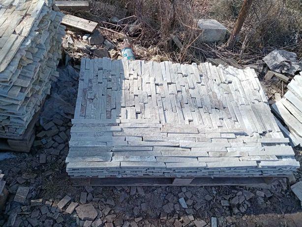 Продам природній натуральний камінь плитку для фасадів будинків і
