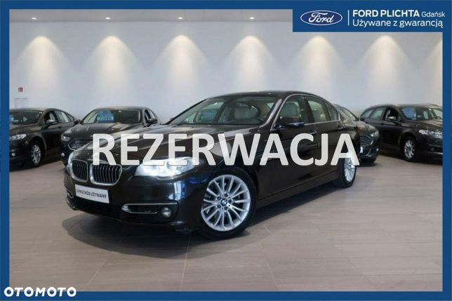 BMW Seria 5 Luxury Line 520d 190 KM X-Drive Automat Salon Polska FV Marża