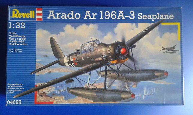 Arado Ar-196 A-3 Hidroavião - Kit Modelismo 1/32 Revell