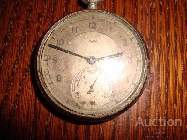 Часы карманные ЗИМ, 1 квартал 1947 года из СССР