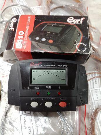 Тюнер электронный хроматический ,E410  новый