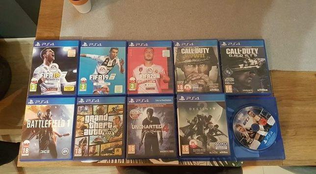 Sprzedam gry na PS4. Stan bardzo dobry. Polecam