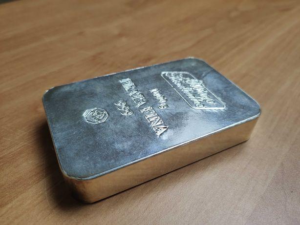 Barra de prata 1kg