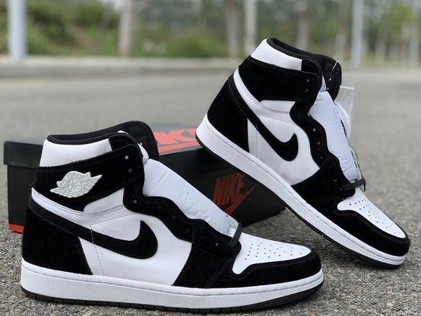Кроссовки Nike Air Jordan 1 High Twist Panda Джордан Панда AJ1 женские