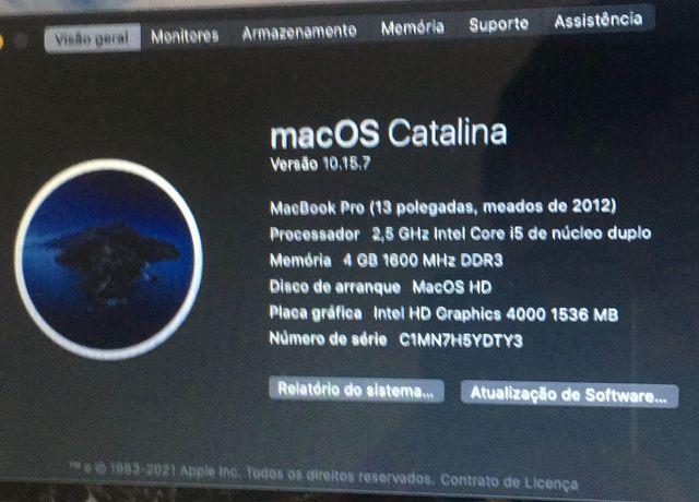 MacBook Pro 13' (2012)