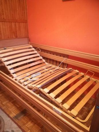 Łóżko rehabilitacyjne + materac przeciwodleżynowy gratis (z niemiec)