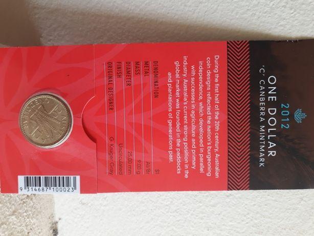 Moeda de 1 Dollar Australiano de coleção