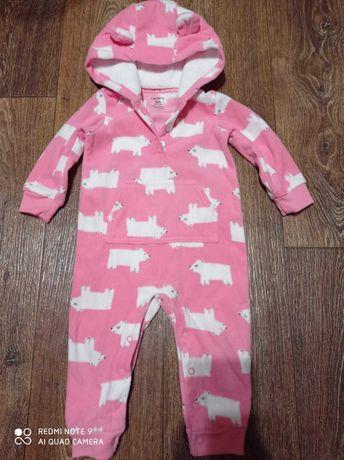 Набор Человечек пижама слипик carters 9-12 месяцев
