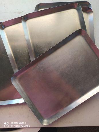 Travessas metal Pastelaria