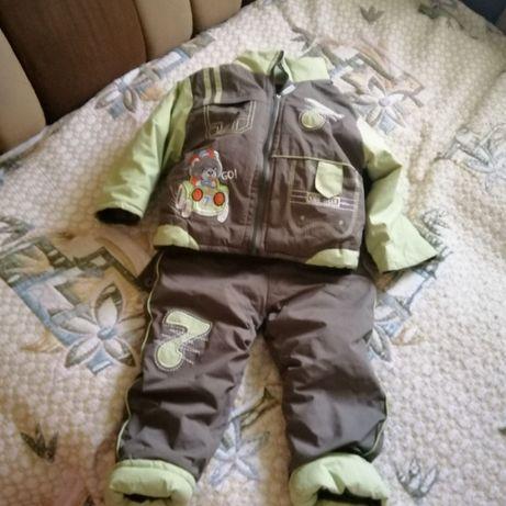 Утепленный комплект для ребенка 1,5-2 года