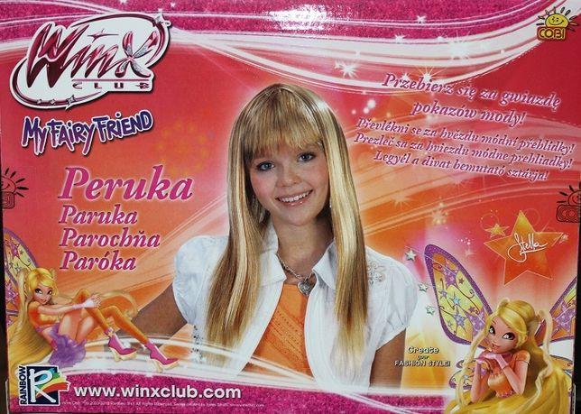 Peruka WINX STELLA Blond Włosy Przebranie Karnawał