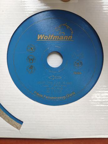 Tarcza diamentowa Wolfmann 250mm FK304 Ceramika Gres