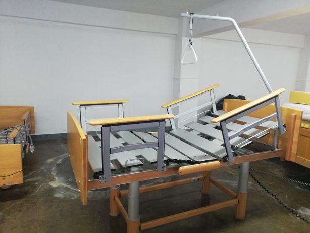 Łóżko rehabilitacyjne Volker DE - wysoka jakość, sterowane na pilot