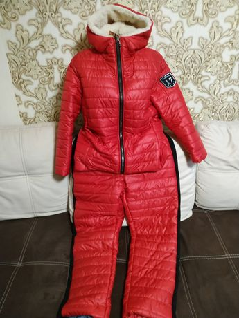 Зимний, женский костюм большого размера