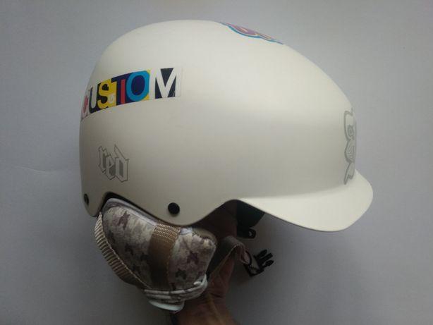 Детский горнолыжный сноубордический шлем Red Mutiny 2, XS 54-55см.