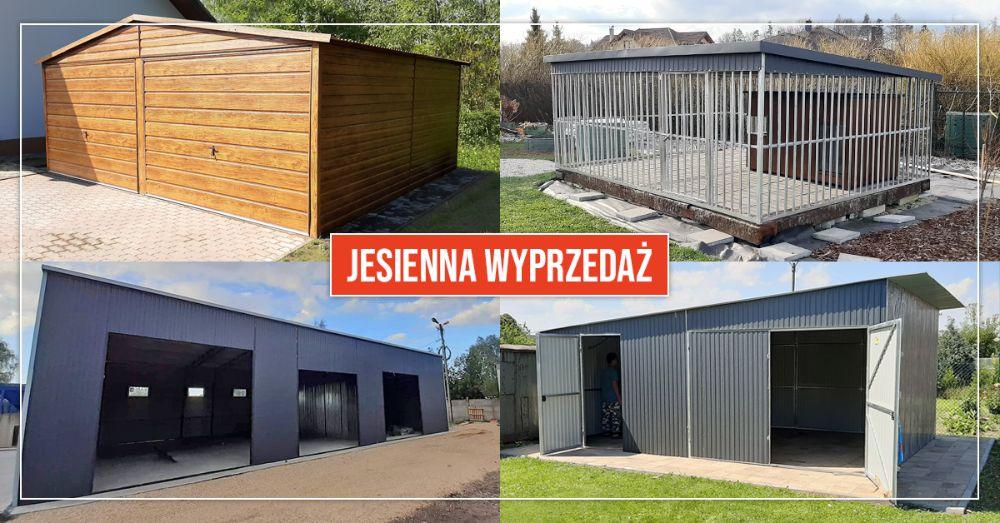 Garaż blaszany garaże blaszaki wiaty kojce dla psów - PRODUCENT Wrocław - image 1