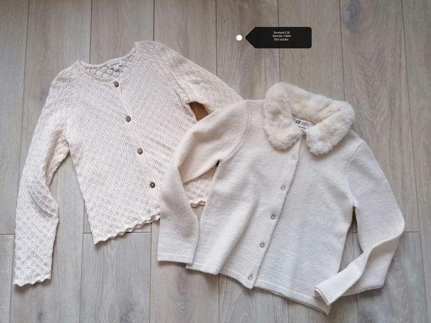 Nowy sweterek  H&m, kappahl newbie 122/128
