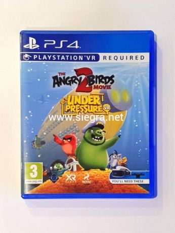 The Angry Birds 2 Movie under pressure VR Ps4